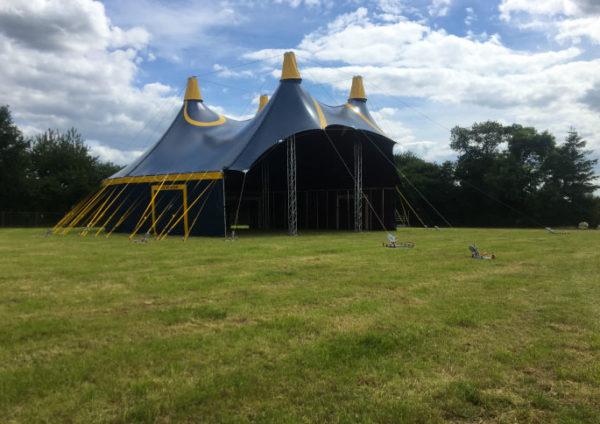 chapiteau de cirque 20m