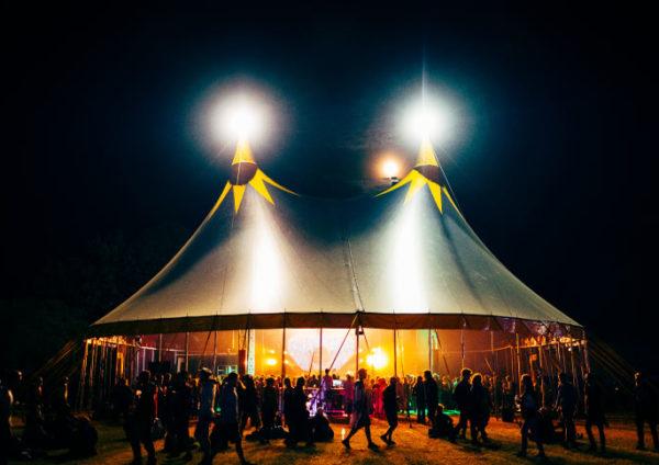 chapiteau de cirque exterieur 25m