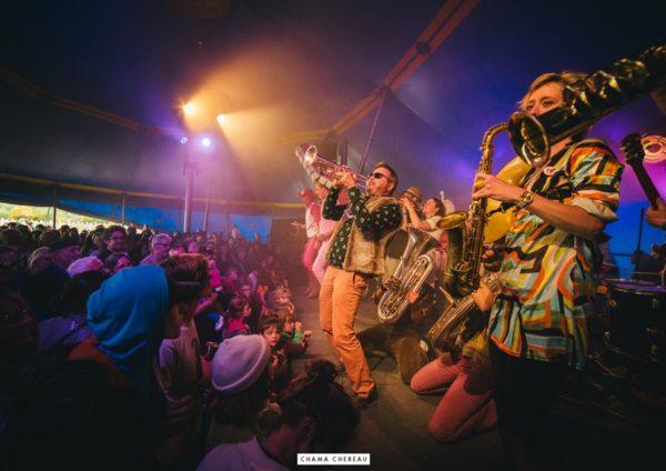 chapiteau de cirque festival interieur