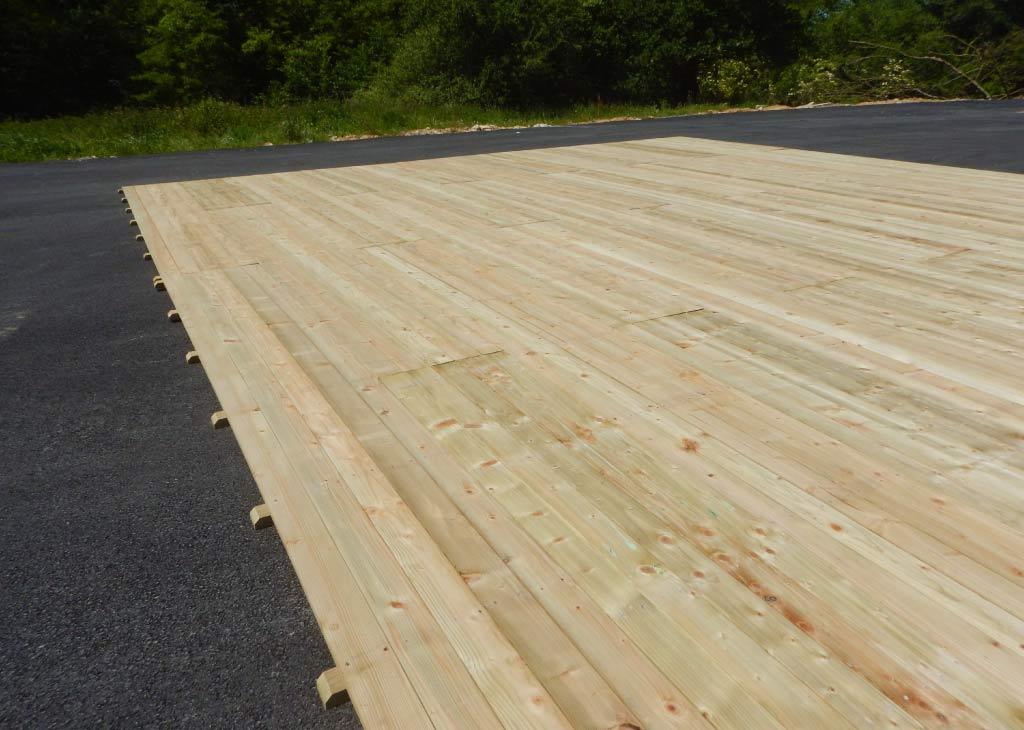 location plancher ou parquet bois